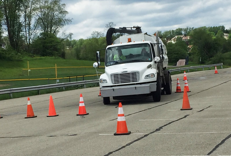 street sweeper driver training
